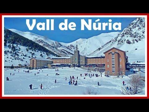 Vall de Núria en invierno: Tren Cremallera y Queralbs   Girona   Pirineo Catalán   España
