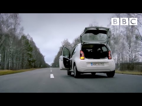 A race to run out of fuel in Ukraine | Top Gear - BBC