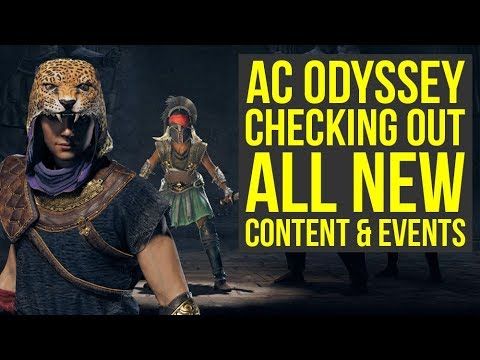 Assassin's Creed Odyssey DLC - Checking Out All The New Stuff (Weekly Reset May 14)
