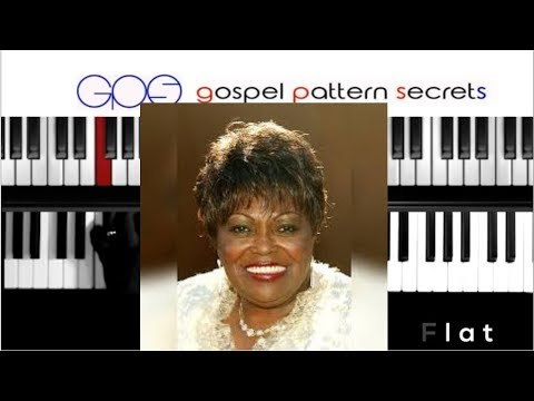 How To Play Oh Jesus-Dorothy Norwood(Piano Tutorial)