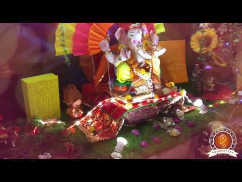 Ruchi Agarwal Home Ganpati Decoration Video