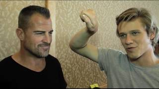 Lucas Till and George Eads Talk MacGyver Reboot and Their MacGyver Moments