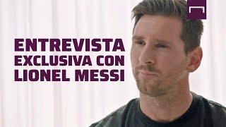 """Entrevista a Messi: """"Jamás iría a juicio contra el club de mi vida, por eso me voy a quedar"""""""