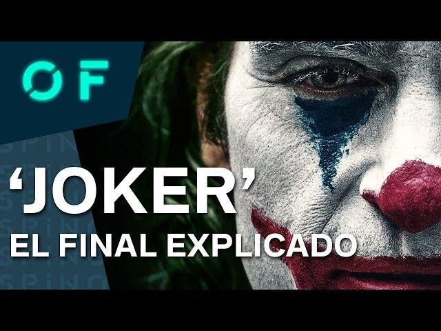 'JOKER': EL FINAL EXPLICADO (y conexiones con el universo Batman)