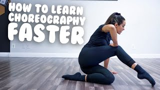 How To Learn Choreography Faster I @MissAuti