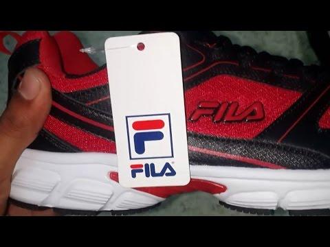 Fila Men's Lite Running Shoes Unboxing.