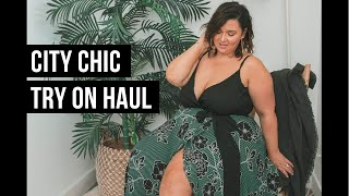 PLUS SIZE FASHION TRY ON HAUL | So So Pretty! CITY CHIC | Sometimes Glam
