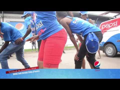 La parade de Pepsi Tour à Marcory