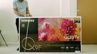Samsung 2018 Q9F/ Q9FN QLED TV Unboxing + Picture Settings
