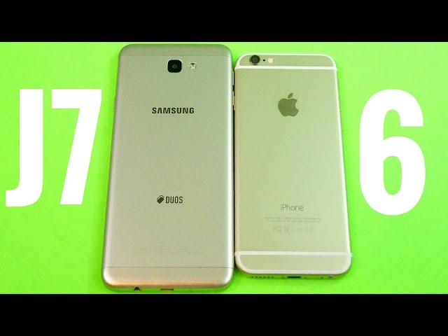Samsung Galaxy J7 Prime Vs Apple IPhone 6