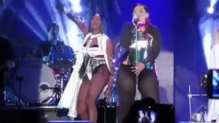 """Nelly Furtado """"Say It Right"""" LIVE @ Montreal Canada Pride/ Fierté SEXY & UP CLOSE!! Aug 18, 2017"""