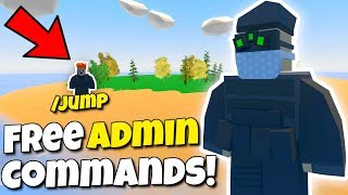 EVERYONE Has ADMIN COMMANDS For FREE On THIS SERVER! (Modded Unturned #126)