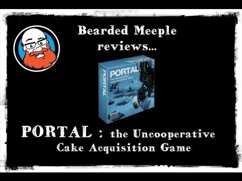 Bearded Meeple reviews Portal: The Uncooperative Cake Acquisiton Game