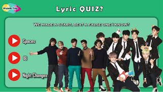 Are you more One Direction OR BTS FAN!