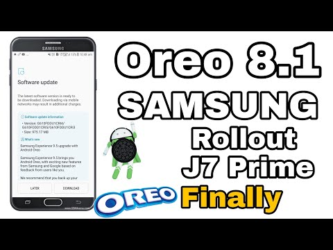 Samsung Galaxy J7 Pro Finally Received Android OREO UPDATE : GOOD