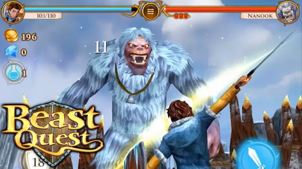 miniclip's 'beast quest' is an upcoming 'infinity blade