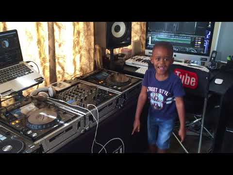DJ Arch Jnr Playing a New South African Hit Song From Dj Shimza and Dj Maphorisa – Make (5yrs Old)