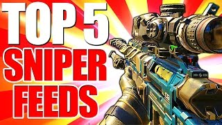 Black Ops 3 - Top 5 SNIPER FEEDS - BO3 Community Top Five #3