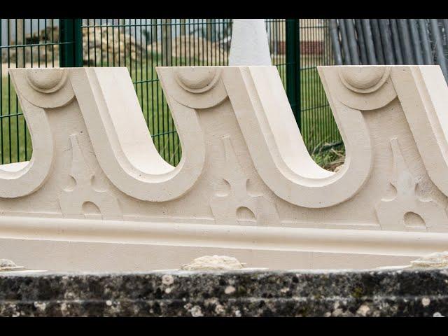Mois de l'Artisanat de l'Oise : Steve Paton, tailleur de pierre
