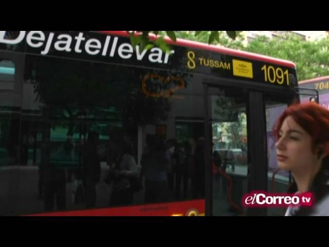 Los autobuses del Aljarafe se suman a la lanzadera de la Cartuja