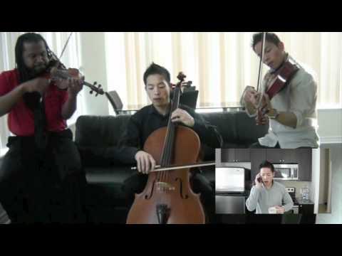 Infinitus Anthem (Official Video) - Beatboxing String Trio