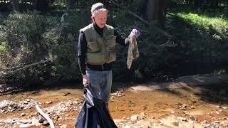 Unexpected Rewards Abound At Sligo Creek Cleanup
