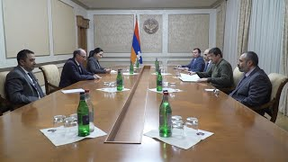 Foreign Minister of Armenia Ara Aivazian met with the President of Artsakh Arayik Harutyunyan