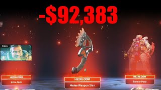I BOUGHT THE WHOLE STORE | Apex Legends | Gibraltar heirloom