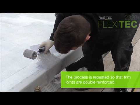 Flexitec 2020 Application Video - Felt Overlay