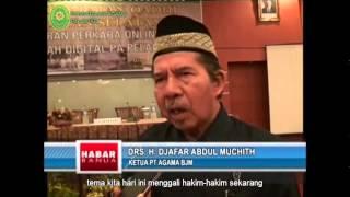 Acara Peluncuran Buku Kerapatan Qadhi – Habar Banua – TVRI Bjm