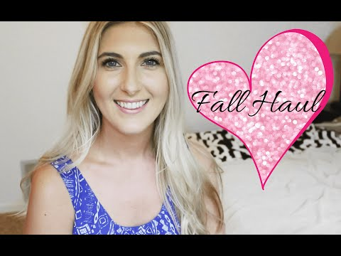 Fall Clothing Haul | J Crew | Kate Spade | Nicole Voute