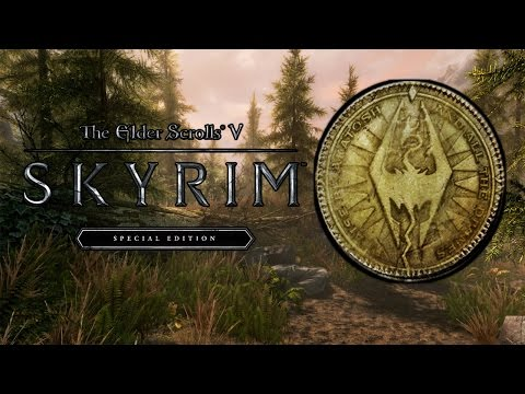 Skyrim Special Edition HOW TO GET FAST & UNLIMITED GOLD