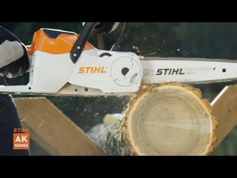 Stihl MSA 120 C-B in Jesup, Georgia - Video 2