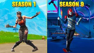 Evolution Of Season Dances In Fortnite (Season 1   Season 9)