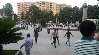 Gəncədə aksiya: İki polis ölüb