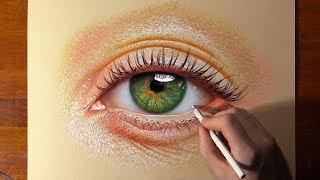 Realistic Eye Drawing👁️