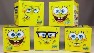 Губка БОБ Сюрпризы Игрушки Видео для детей Toys Surprise Spongebob Nickelodeon
