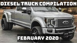 DIESEL TRUCK COMPILATION | FEBRUARY 2020