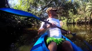 preview picture of video 'Baba Videos / Kayak on el Tigre, Argentina, GoPro 4'