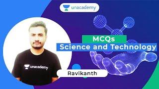 Important MCQs on Science & Technology   FDA/SDA/PSI/KAS   Ravikanth