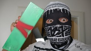 GZUZ - WOLKE 7  (Ltd. Graffiti Fan Box) UNBOXING