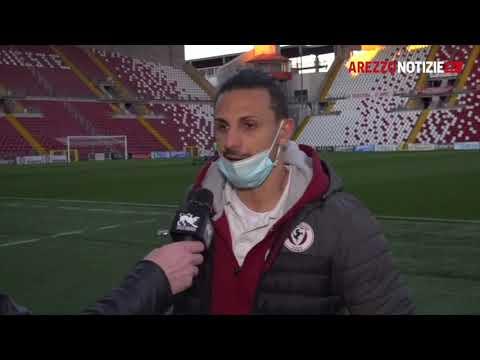 Triestina-Arezzo 2-2 - Intervista a Mariano Arini