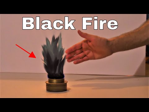 How to Make Black Fire with a Shadow