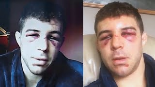 Яквинта после боя с Хабибом Нурмагомедовым / Хабиб просто зверь