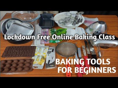Lockdown Free Online Baking Class|| Episode1 || Base Tools For Cake Making|@Nisha's world