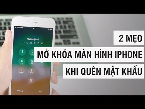 2 mẹo MỞ KHÓA iPhone không cần mật khẩu | Điện Thoại Vui