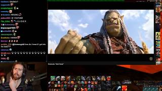 """Asmongold Reacts to the WoW Cinematic """"Safe Haven"""""""