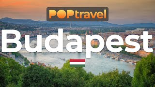 Walking In BUDAPEST / Hungary 🇭🇺- Chain Bridge To Citadella - 4K 60fps (UHD)