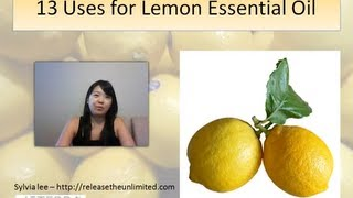 Great uses for Lemon essential oil