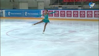 На Ледовой Арене Великого Новгорода прошли региональные соревнования по фигурному катанию